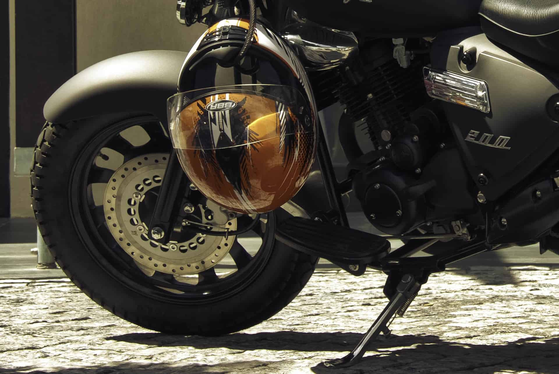 The helmet technology: rocketing the odds of survival in a motorcycle collision